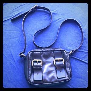 Kelsi Dagger Purse Bag Black Leather Crossbody